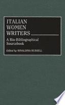 Italian Women Writers
