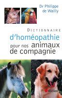 illustration Dictionnaire d'homéopathie pour nos animaux de compagnie