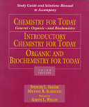 Chemistry for Today General Organic A