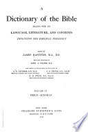 Dictionary of the Bible  Feign Kinsman