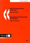 Glossaire de L'économie de L'OCDE