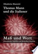 Thomas Mann und die Italiener