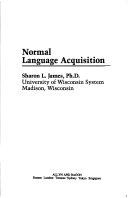 Normal Language Acquisition