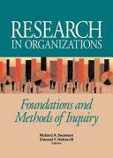 Research in Organizations