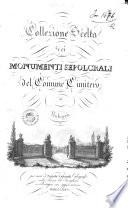 Collezione scelta dei monumenti sepolcrali del comune cimitero di Bologna per cura di Natale Salvardi