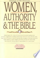 Women  Authority   the Bible