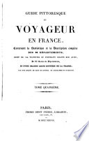 Guide pittoresque du voyageur en France