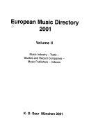 European Music Directory 2001