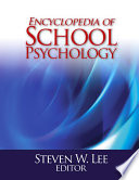 Encyclopedia of School Psychology