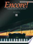 Encore!, Bk 1