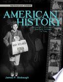 American History Student