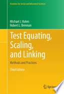 Test Equating  Scaling  and Linking