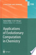 Applications Of Evolutionary Computation In Chemistry book