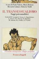 Il transessualismo  Saggi psicoanalitici