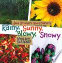 Rainy Sunny Blowy Snowy