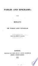 Fables and Epigrams