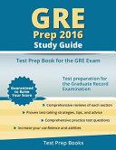 GRE Prep 2016 Study Guide