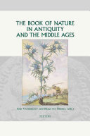 download ebook the book of nature in antiquity and the middle ages pdf epub