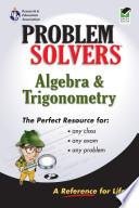 Algebra and Trigonometry Problem Solver