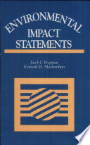 Environmental Impact Statements For Any Major Action That Requires A
