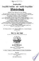 th. Französisch-deutsch. 4. nach der 7. aufl. der Academie durchgeschene u. verb. stereotyp aufl. 2 v