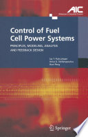 Control Of Fuel Cell Power Systems book