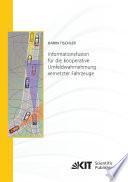 Informationsfusion für die kooperative Umfeldwahrnehmung vernetzter Fahrzeuge