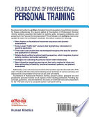 Foundations of Professional Personal Training 2nd Edition