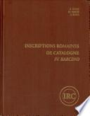 illustration Inscriptions romaines de Catalogne