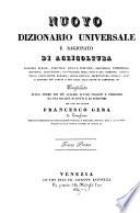 Nuovo dizionario universale e ragionato di agricoltura  economia rurale  forestale  civile e domestica