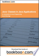 Java  Classes in Java Applications