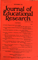 Journal of educational research