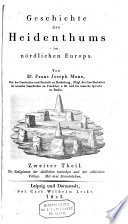 Geschichte des Heidenthums im nordlichen Europa