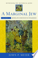 A Marginal Jew  Rethinking the Historical Jesus  Volume V