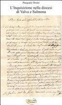 L Inquisizione nella diocesi di Valva e Sulmona