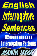 English Interrogative Sentences