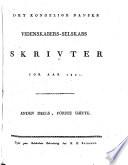 Det Kongelige Danske videnskabers selskabs skrivter for aar