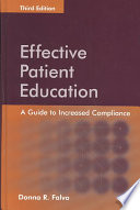 illustration Effective Patient Education: A Guide to Increased Compliance