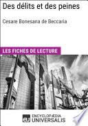 illustration Des délits et des peines de Cesare Beccaria