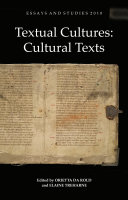 Textual Cultures  Cultural Texts