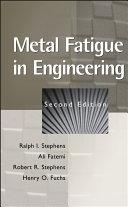 Metal Fatigue in Engineering