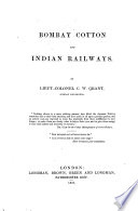 Bombay Cotton and Indian Railways