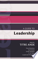 ISG 43  A Guide to Leadership