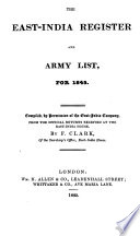 The East India Register and Army List
