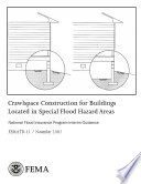 Crawlspace Construction for Buildings Located in Special Flood Hazard Areas  National Flood Insurance Program Interim Guidance