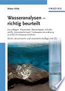 Wasseranalysen   richtig beurteilt