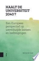 Haalt De Universiteit 2040