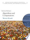 Statistical Mechanics  Algorithms and Computations