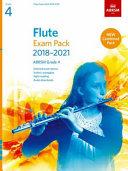Flute Exam Pack 2018-2021, ABRSM Grade 4