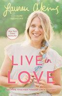 Live in Love Book